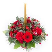 Delivery of funeral flowers in Saint-Hubert